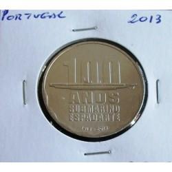 Portugal - 2,50 Euro - 2013 - 100 Anos Submarino Espadarte