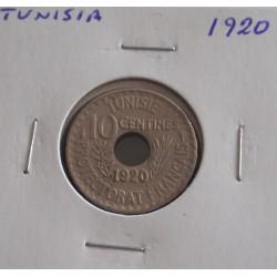 Tunisia - 10 Centimes - 1920