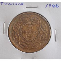 Tunisia - 5 Francs - 1946