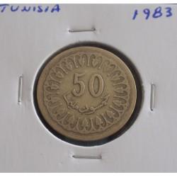 Tunisia - 50 Millim - 1983