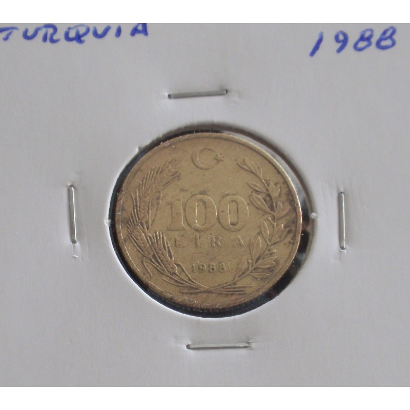 Turquia - 100 Lira - 1988