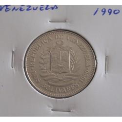 Venezuela - 2 Bolivares - 1990