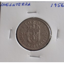 Inglaterra - 1 Shilling - 1956