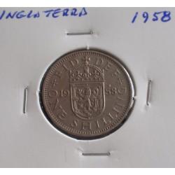 Inglaterra - 1 Shilling - 1958