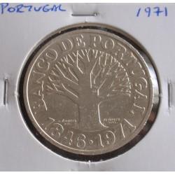 Portugal - 50 Escudos - 1971 - Banco de Portugal - Prata