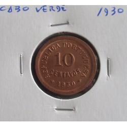 Cabo Verde - 10 Centavos - 1930
