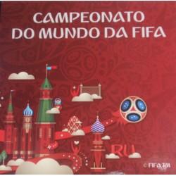 Portugal - 2,50 Euro - 2018 - FIFA/Rússia - Prata - Proof