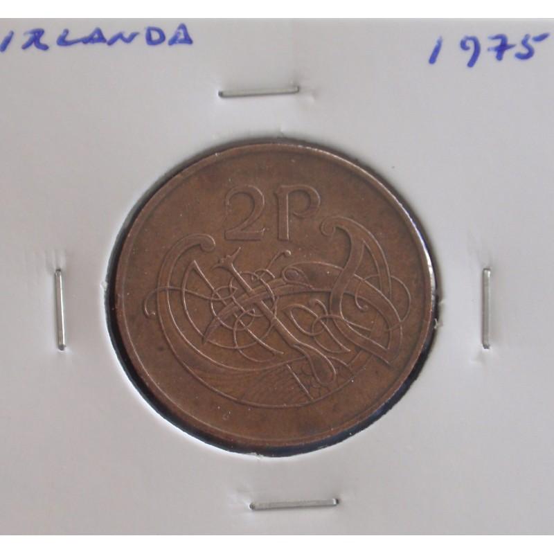 Irlanda - 2 Pence - 1975