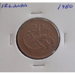 Irlanda - 2 Pence - 1980