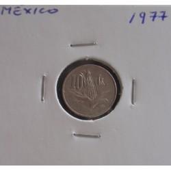 México - 10 Centavos - 1977