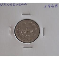 Venezuela - 5 Centimos - 1948