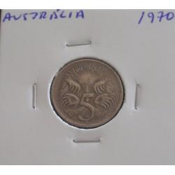 Austrália - 5 Cents - 1970