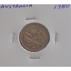 Austrália - 5 Cents - 1980