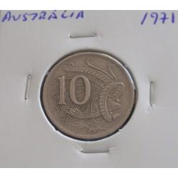 Austrália - 10 Cents - 1971