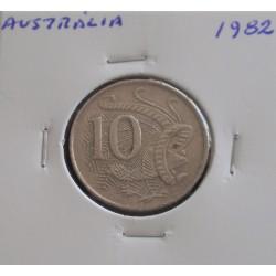 Austrália - 10 Cents - 1982