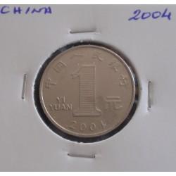China - 1 Yuan - 2004