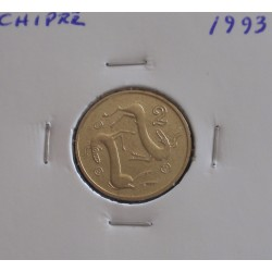 Chipre - 2 Cents - 1993