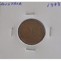 Aústria - 50 Groschen - 1973