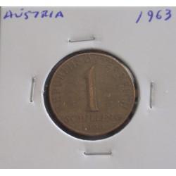 Aústria - 1 Schilling - 1963
