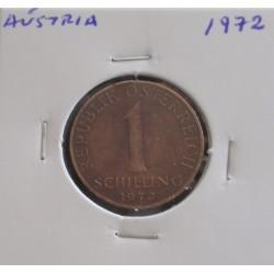 Aústria - 1 Schilling - 1972