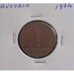 Aústria - 1 Schilling - 1974