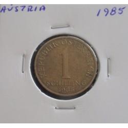 Aústria - 1 Schilling - 1985