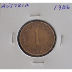 Aústria - 1 Schilling - 1986