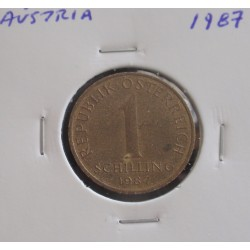 Aústria - 1 Schilling - 1987