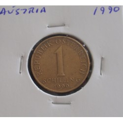Aústria - 1 Schilling - 1990