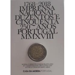 Portugal - 2 Euro - 2018 - 250 Anos da INCM - BNC
