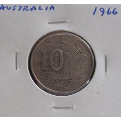 Austrália - 10 Cents - 1966