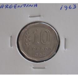 Argentina - 10 Pesos - 1963