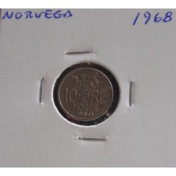 Noruega - 10 Ore - 1968