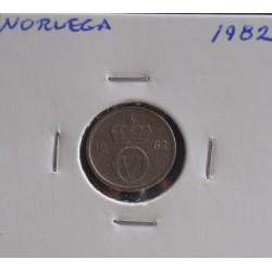 Noruega - 10 Ore - 1982