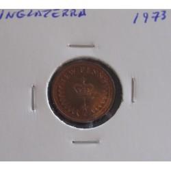 Inglaterra - 1/2 New Penny - 1973