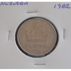 Noruega - 1 Krone - 1982