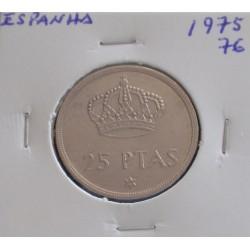 Espanha - 25 Pesetas - 1975-76
