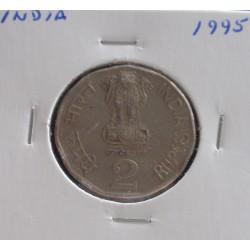 India - 2 Rupees - 1995