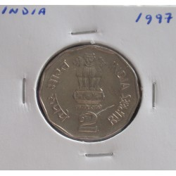 India - 2 Rupees - 1997