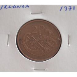 Irlanda - 2 Pence - 1971