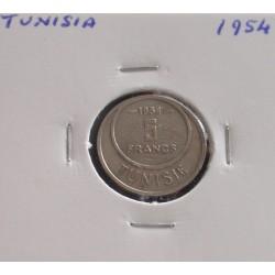 Tunisia - 5 Francs - 1954