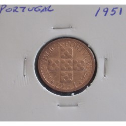 Portugal - 20 Centavos - 1951