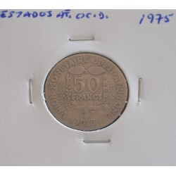 Estados de África Ocidental - 50 Francs - 1975
