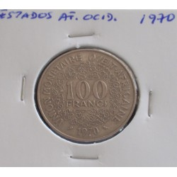 Estados de África Ocidental - 100 Francs - 1970