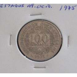 Estados de África Ocidental - 100 Francs - 1975