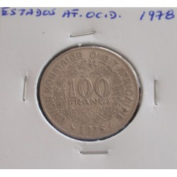 Estados de África Ocidental - 100 Francs - 1978