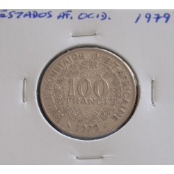 Estados de África Ocidental - 100 Francs - 1979