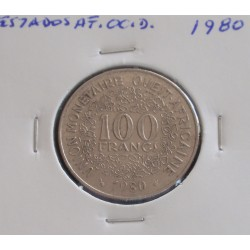 Estados de África Ocidental - 100 Francs - 1980
