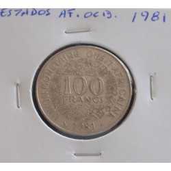 Estados de África Ocidental - 100 Francs - 1981