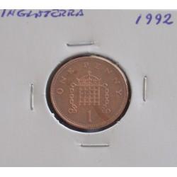 Inglaterra - 1 Penny - 1992